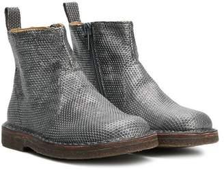 Pépé geometric pattern ankle boots