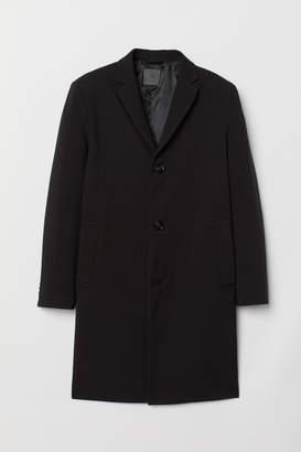 H&M Viscose-blend Coat - Black
