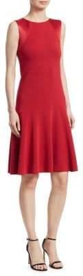 Emporio Armani Sleeveless Fit-&-Flare Dress