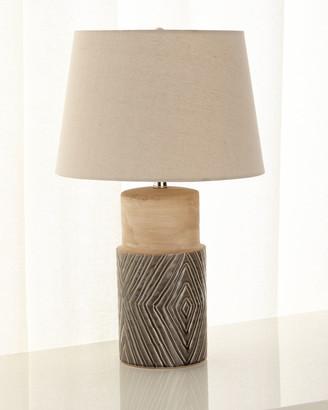 Tribal Ceramic Table Lamp