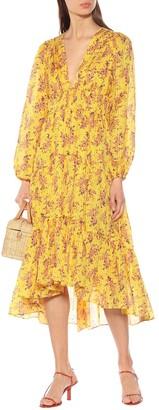 Ulla Johnson Joan cotton and silk dress
