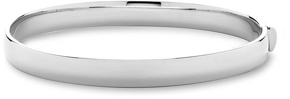Roberto Coin Thick 18k Gold Oval Bangle