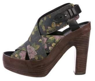 Rag & Bone Suede Platform Sandals