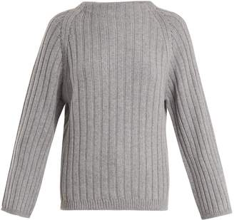 Aster QUEENE AND BELLE ribbed-knit cashmere sweater