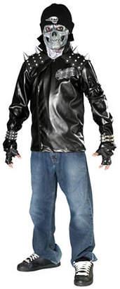 Rubies Costumes Kids Metal Skull Biker Costume