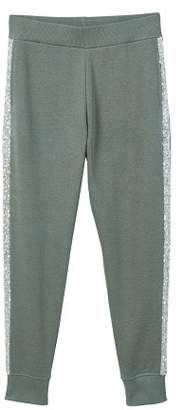 MANGO Sequins panels trousers