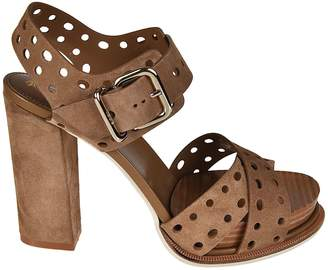 Tod's Buckled Sandals