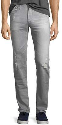 AG Adriano Goldschmied Tellis Straight-Leg Jeans in 21 Years Sketch