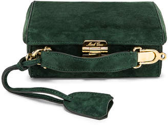 Mark Cross Grace Mini Box Bag in Evergreen   FWRD