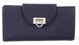 Salvatore Ferragamo Leather Gancini Wallet