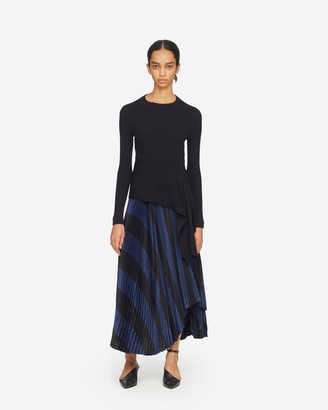 3.1 Phillip Lim Ribbed Pullover With Waist Tie