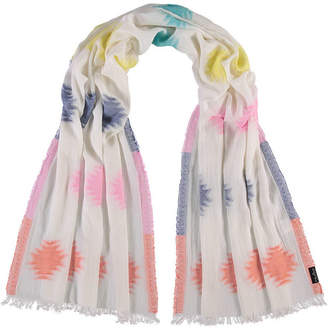 Fraas Abstract Dot Oblong Scarf