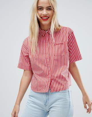 Tommy Jeans Boxy Stiped Shirt