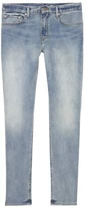Banana Republic Athletic Tapered Rapid Movement Denim Light Wash Jean