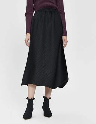Pleats Please Issey Miyake Flow Midi Skirt
