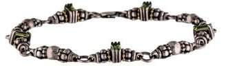 Lagos Two-Tone Peridot Glacier Bracelet
