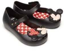 Mini Melissa Toddler's Ultragirl Disney Twins Mary Jane Flats $65 thestylecure.com