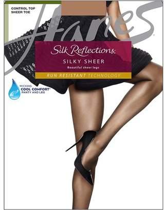 Hanes Women's 0A925 Silk Reflections Sheer Control Top Pantyhose