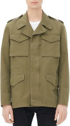 Sandro Cotton Field Jacket $695 thestylecure.com