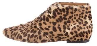 Etoile Isabel Marant Leopard Print Ponyhair Boots