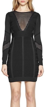 French Connection Duo Danni Bandage Dress $198 thestylecure.com