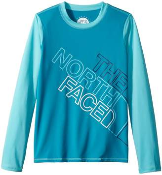 The North Face Kids Long Sleeve Amphibious Tee Girl's T Shirt
