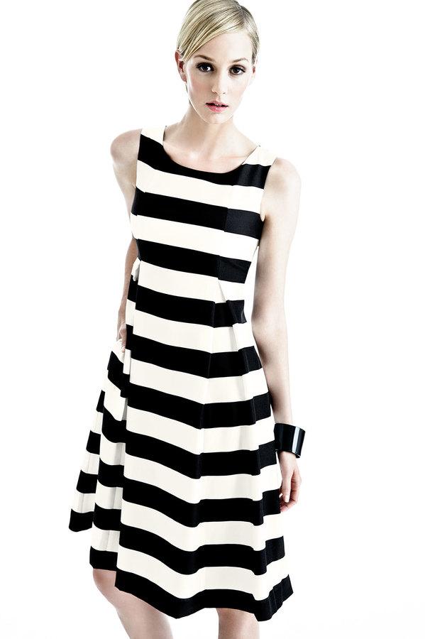 Lafayette 148 New York Macenna Silk Full-Skirt Dress