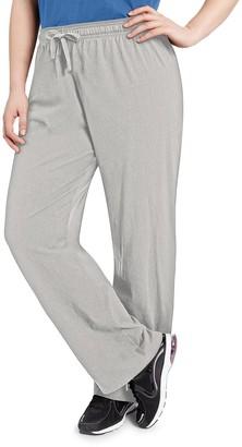 Champion Plus Size Jersey Workout Pants