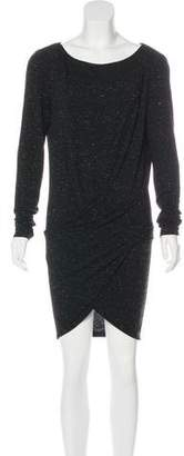 Donna Karan Long Sleeve Mini Dress