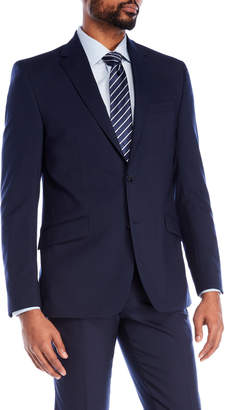 Kenneth Cole New York Wool Blend Suit Jacket