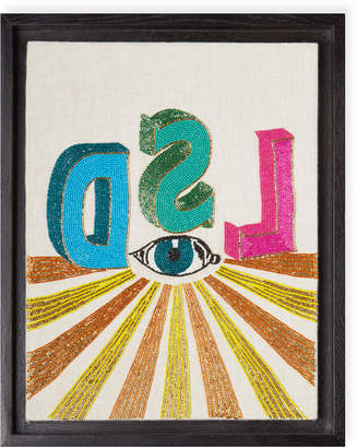 Jonathan Adler LSD Beaded Wall Art