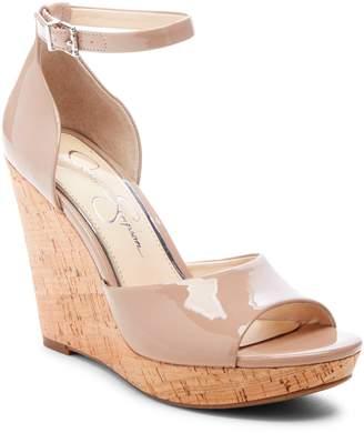 64c315c0f3c Jessica Simpson Beige Wedge Women s Sandals - ShopStyle