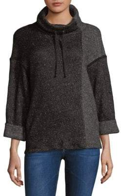 Splendid Cowlneck Heathered Sweatshirt