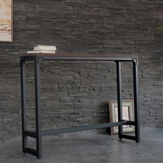 Logan Ac Pacific Minimalist Contemporary Industrial Bar/Cocktail Table