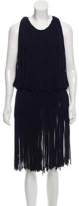 Lanvin Fringe Midi Dress