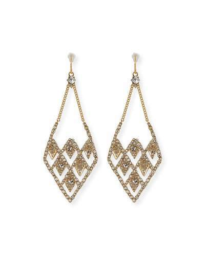 Alexis Bittar Alexis Bittar Lattice Wire Drop Earrings