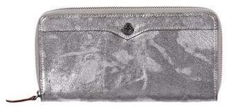Rebecca Minkoff Metallic Continental Wallet