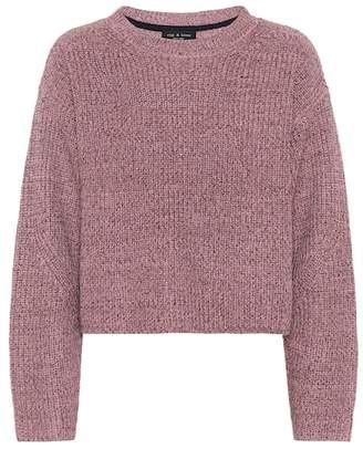 Rag & Bone Jubilee metallic wool-blend sweater