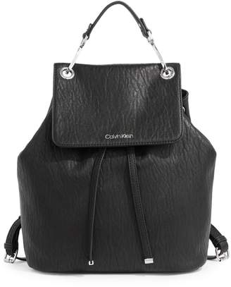 Calvin Klein Sonoma Leather Backpack