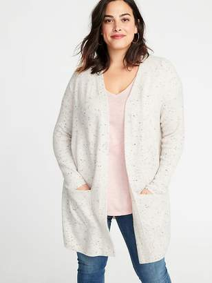 Old Navy Pop-Color Yarn Long-Line Open-Front Plus-Size Sweater