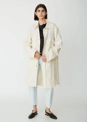 Lemaire Cotton Linen Overshirt Coat