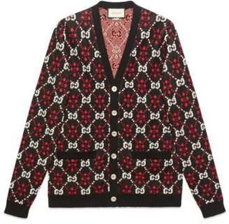 Gucci GG diamond cardigan
