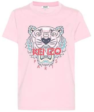 Kenzo Tiger Logo cotton T-shirt