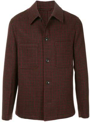 TOMORROWLAND checked shirt jacket