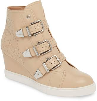 Linea Paolo Fawn Wedge Sneaker