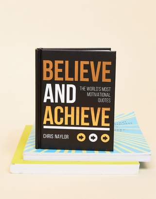 Books Believe and Achieve Book