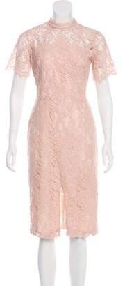 Alexis Lace Open Back Dress