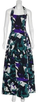 Missoni Silk Sleeveless Maxi Dress