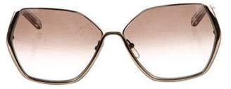 Chloé Hexagonal Gradient Sunglasses