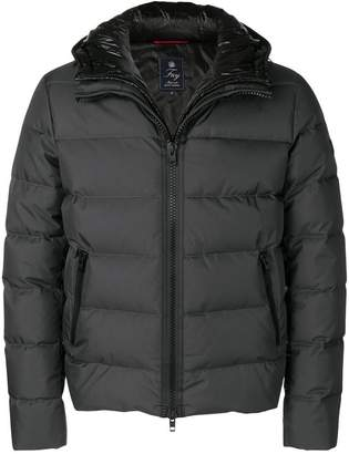 Fay layered puffer jacket